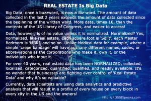 Real Estate is Big Data