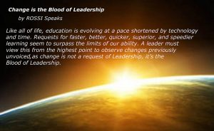 Blood of Leadership