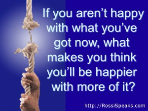 If you're not happy with what you got